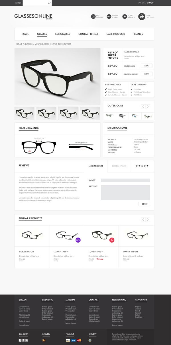 Glasses Online by Thomas Pickering