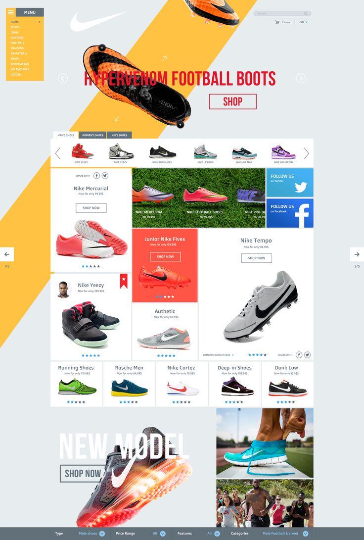 Nike Redesign by Vitali Zakharoff
