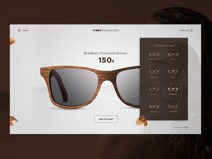 Wood sunglasses by Martin Strba