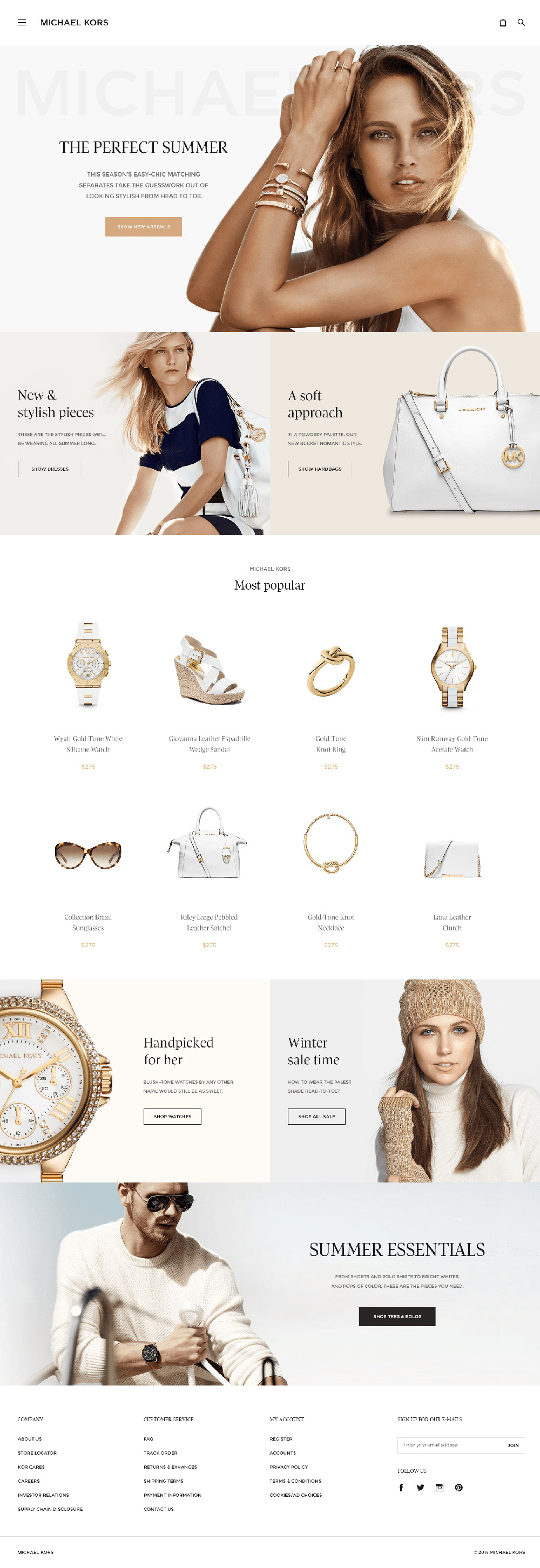 Michael Kors re-design by by Dejan Markovic