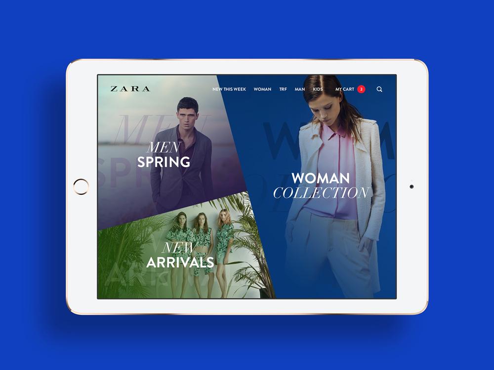 ZARA mobile