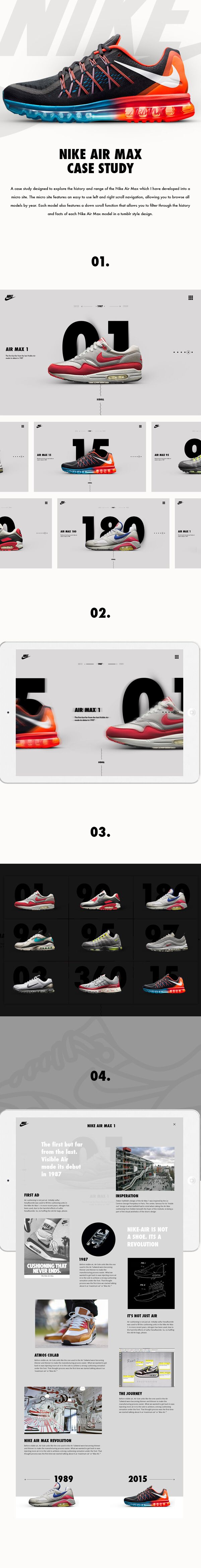 Nike Air Max Case Study by Shaun Gardner