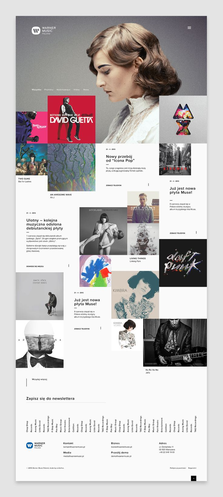 Warner Music Poland by Maciej Mach