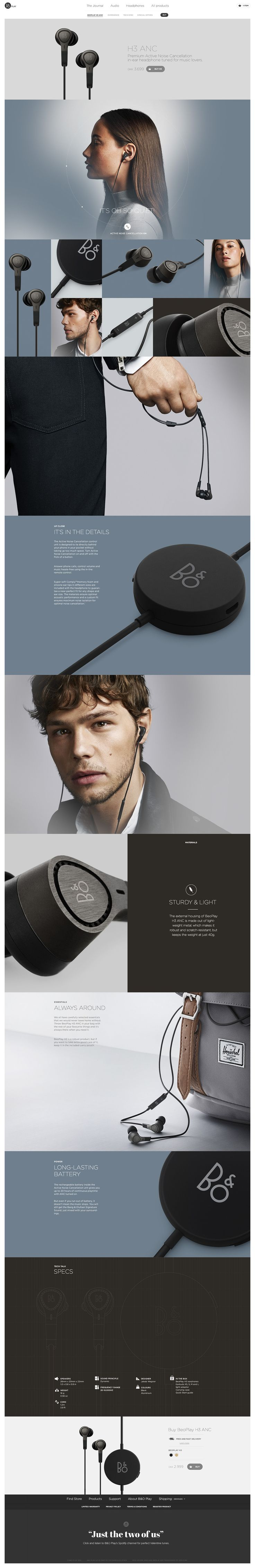 BeoPlay H3 by Søren Smidt