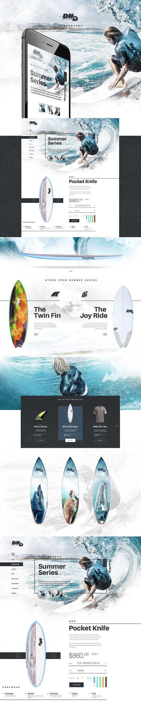 DHD Surfing by Pawel Skupien