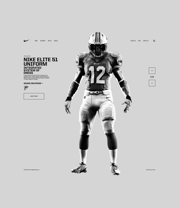 Nike. Elite 51 Uniform by  Tomasz Sochacki