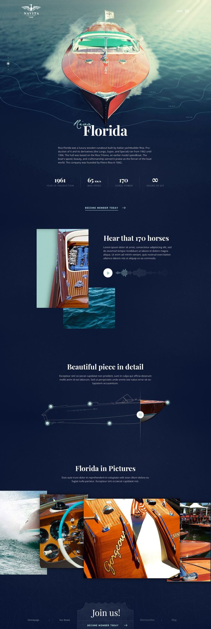 Yacht club – boat page by Martin Béber