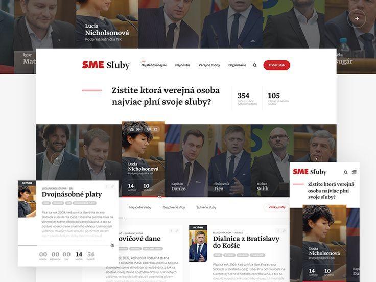 Political project Sluby.sme.sk by Milan Chudoba